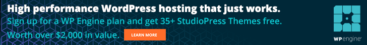 wordpress hosting wpengine get studiopress themes free