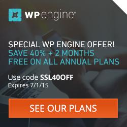 40% Off WP Engine