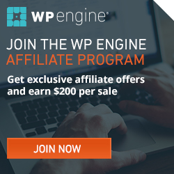 Earn up to $7500 for one sale with WP Engine!