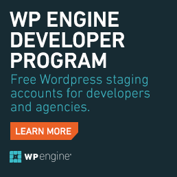 WP Engine WordPress Hosting Ad