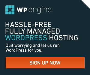 Managed WordPress Hosting from WP Engine