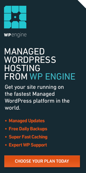 WP Engine Managed WordPress Hosting