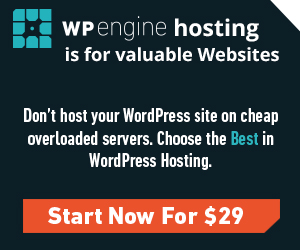Web Hosting with WPengine