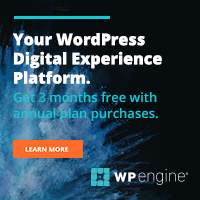 Save 20% On WPEngine