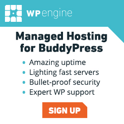 WP Engine Managed Hosting for BuddyPress