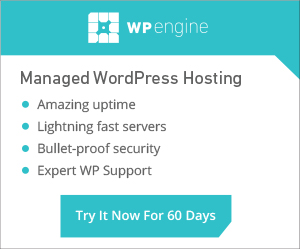 Special Offer from WP Engine