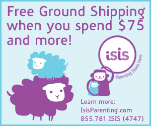 Isis Parenting - Free Shipping when you spend $75 or more
