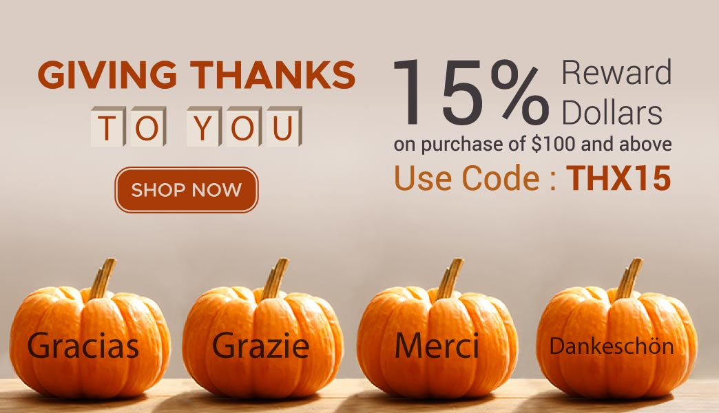 Pre - Thanksgiving Sale