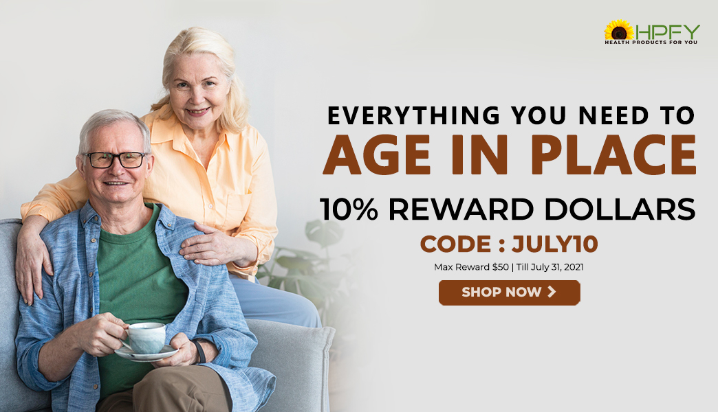 10% RD | Everything You Need to Age In Place | Code: JULY10