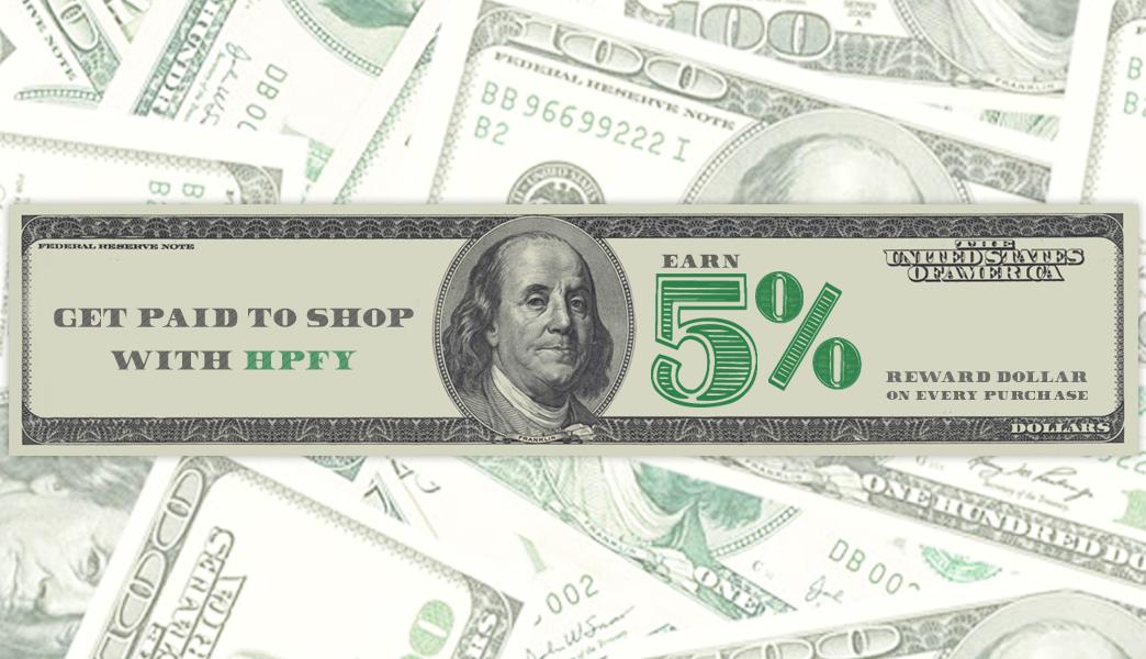 5% Reward Dollar