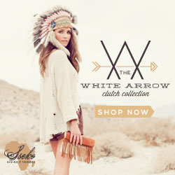 White Arrow Clutch Collection