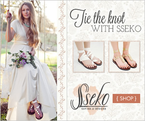 Tie the knot with Sseko. Order Silk Wedding Sandals and Accessories.