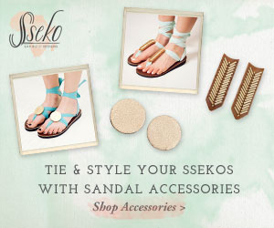 Create Your Own Look! Tie and Style Sseko Sandles with Sandal Accessories. Sseko Designs - Using Fashion to Empower and Educate Women. Click Here!