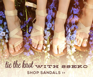Wedding Sandals from Sseko
