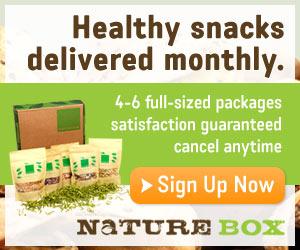 NatureBox Sign Up