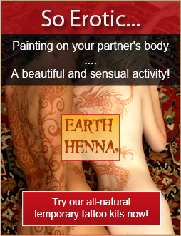 henna and jagua temporary body tattoos