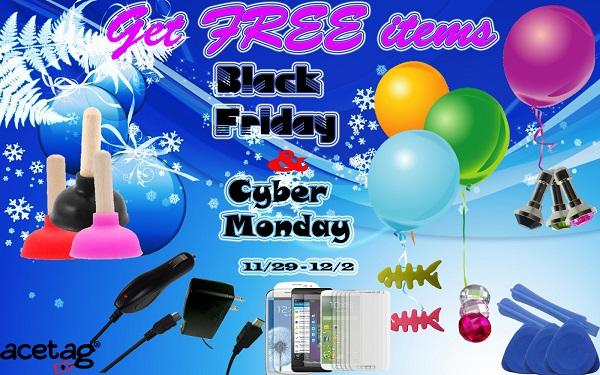 Black Friday & Cyber Monday 2013 Acetag.com