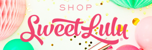 Make Your Party Pretty with Shop Sweet Lulu