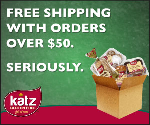 gluten free products delivered