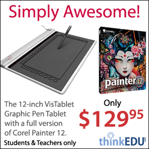 VisTablet with Painter 12 - $129.95