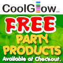 cool glow free party products