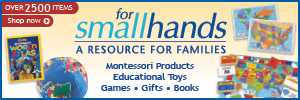 For Small Hands - A Resource for Families