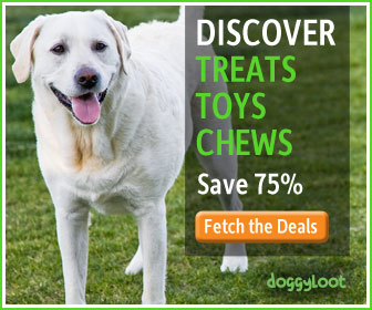 Treats, toys, chews. Subscribe at doggyloot