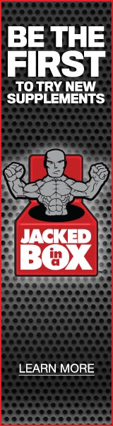 Be the First to Try New Supplements - Join Jacked-In-A-Box