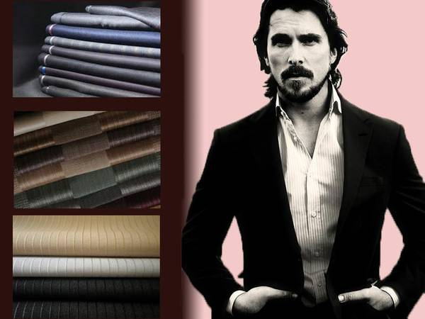 Custom Made Suiting at unbeatable price wool, linen, blended and cashmere available.
