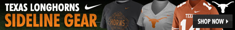 Shop Texas Longhorns Sideline Apparel