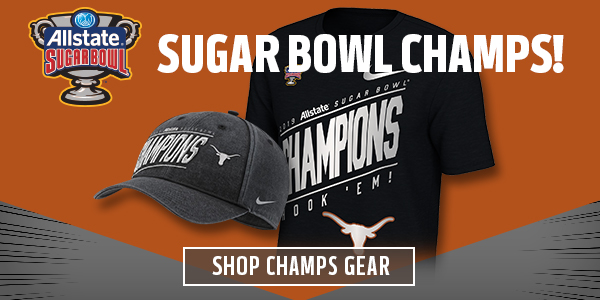 Official Texas Longhorns Sugar Bowl Champs Gear