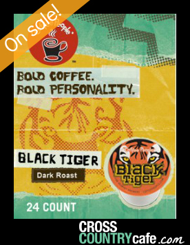 Coffee People Black Tiger Keurig K-cup coffee