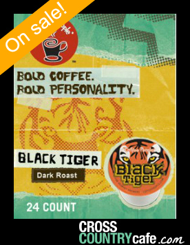 Black Tiger Keurig K-cup coffe...