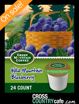 Blueberry Keurig K-cup coffee