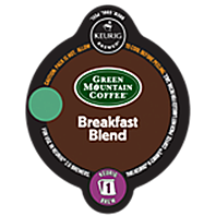 Green Mountain Breakfast Blend Keurig K-carafe coffee pods