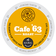 Cafe 63 Keurig K-cup coffee pods