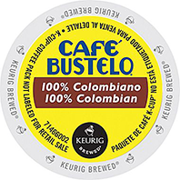 Cafe Bustelo Colombian Keurig K-cup coffee
