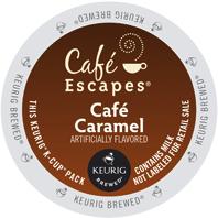 Cafe Escapes Cafe Caramel Keurig® K-Cup® pods