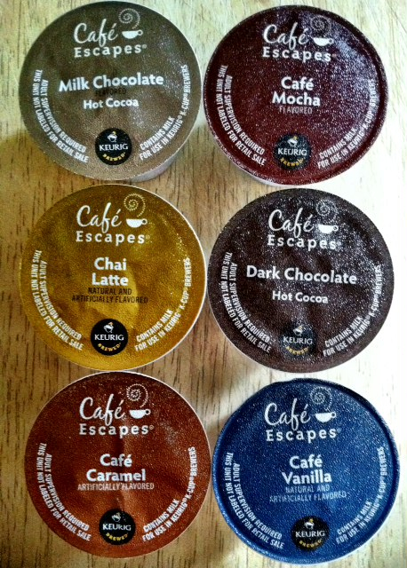 Cafe Escapes Keurig Kcup coffee