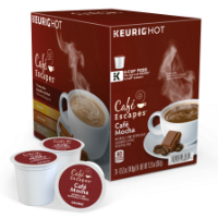 Cafe Escapes Cafe Mocha Keurig�  K-Cup coffee pods