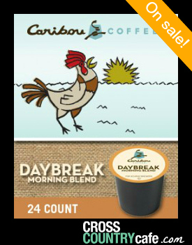 Caribou Daybreak Morning Blend Kcup coffee