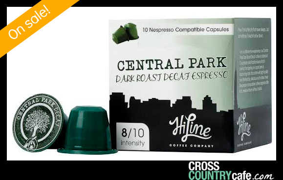 Central Park Decaf Nespresso compatible capsules