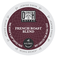 Diedrich French Roast Keurig K-cup coffee
