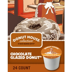 Donut House Collection Chocolate Glazed Donut