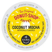 Donut Shop Coconut Mocha Keurig Kcup coffee
