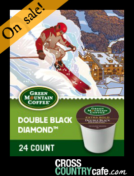 Double Black Diamond Keurig K-cup Coffee
