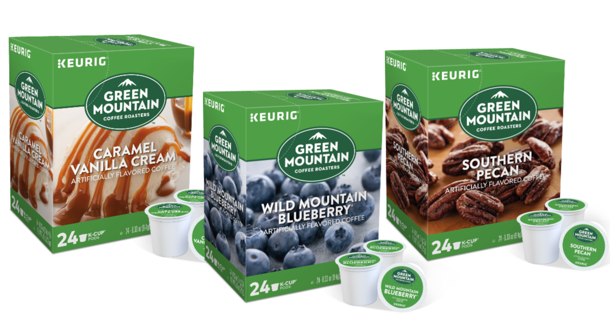 Green Mountain® flavored K-Cup® coffee pod SALE!