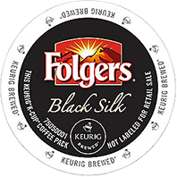 Folgers Black Silk Keurig Kcup coffee