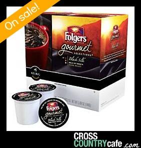 Folgers Black Silk Keurig K-cup coffee