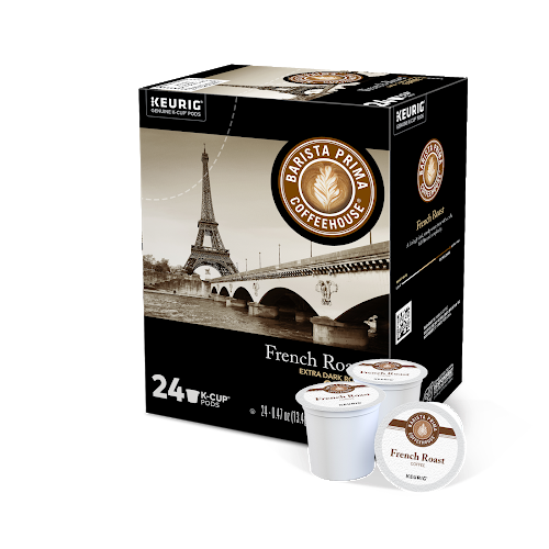 Barista Prima French Roast K-Cup® Pods box of 24